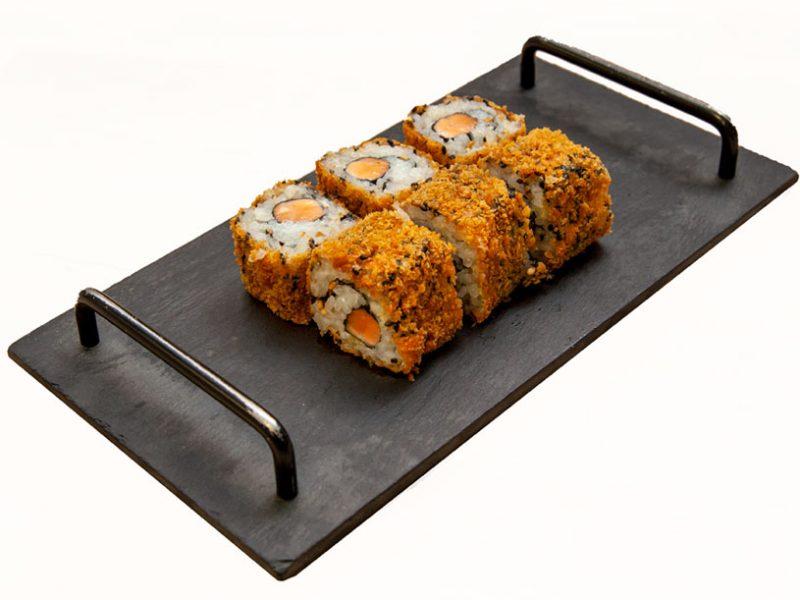 Crunchy-rolls-6-pièces-saumon-sushi-metz